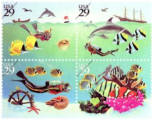 Wonders of the Sea stamps, 72dpi